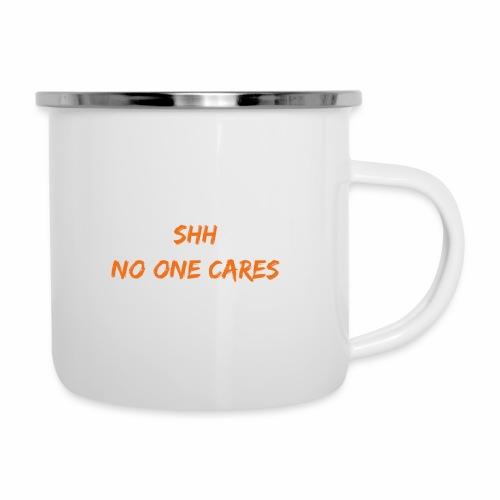 NO one cares - Camper Mug