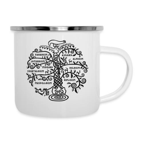Yggdrasil - The World Tree - Camper Mug