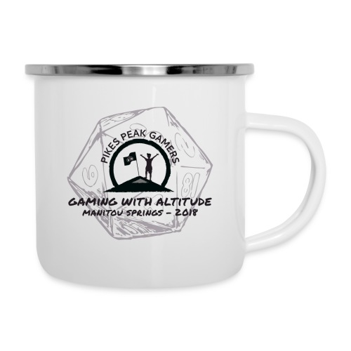 Pikes Peak Gamers Convention 2018 - Accessories - Camper Mug