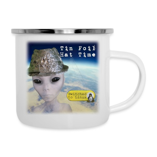 Tin Foil Hat Time (Earth) - Camper Mug