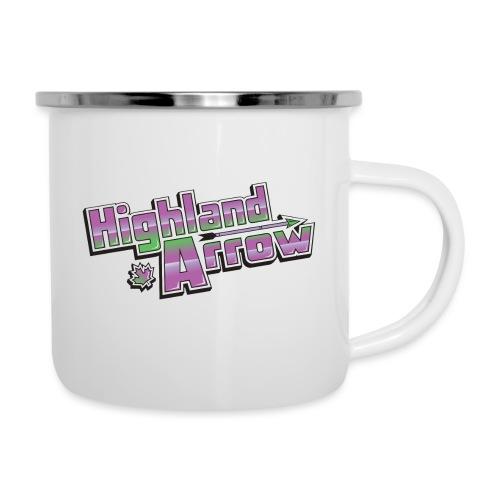Highland Arrow Logo - Camper Mug