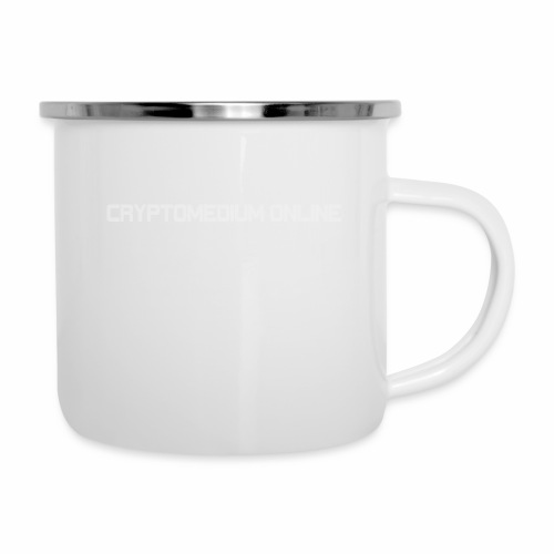 cryptomedium logo light - Camper Mug