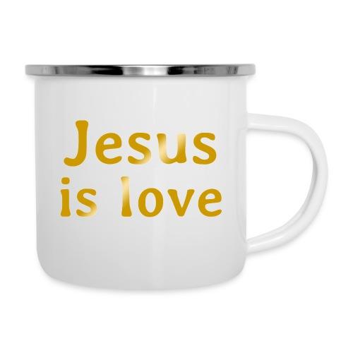 Jesus is love - Camper Mug