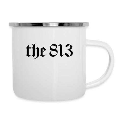 The 813 in Black Lettering - Camper Mug