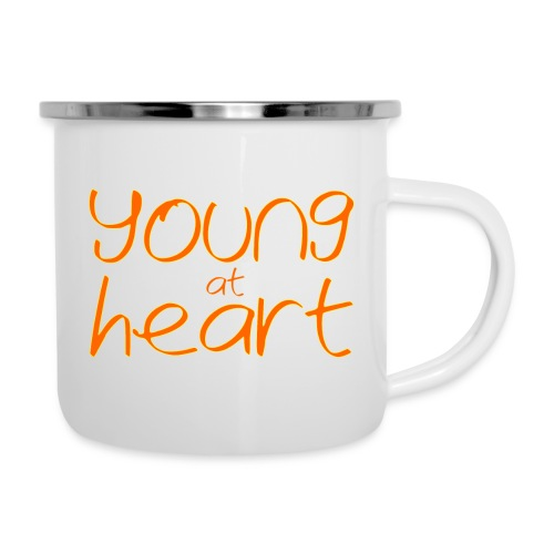young at heart - Camper Mug