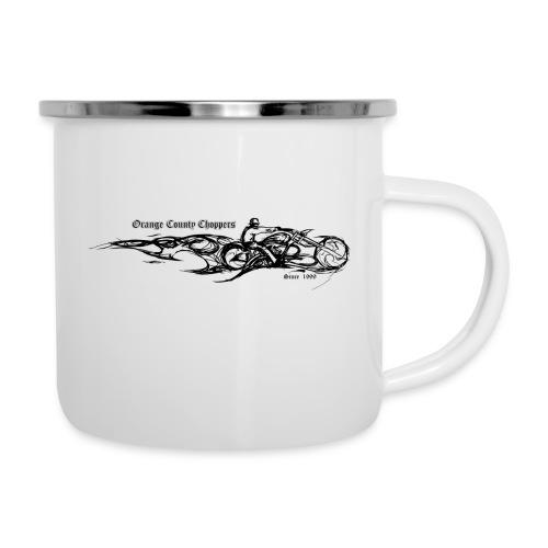 Sketch Rider Front - Camper Mug