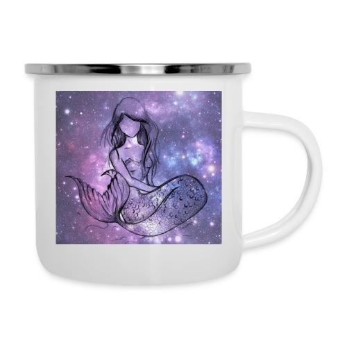 Galaxy Mermaid - Camper Mug