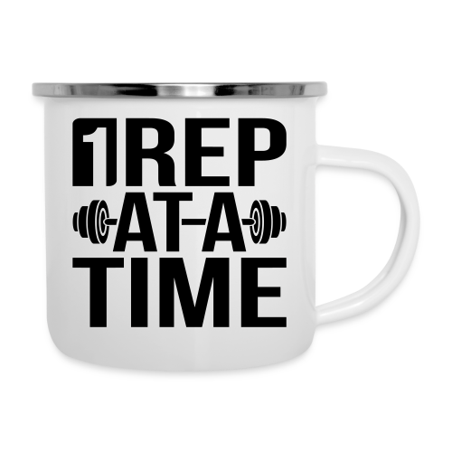 1Rep at a Time - Camper Mug