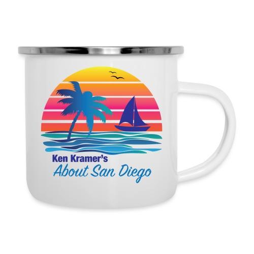 Ken's Exciting Color Logo - Camper Mug