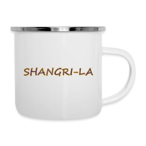 Shangri La gold blue - Camper Mug