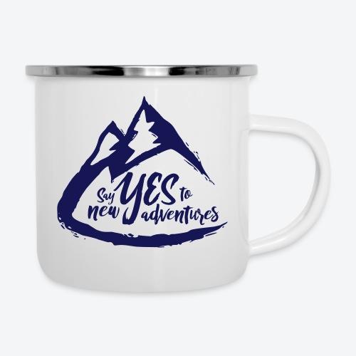 Say Yes to Adventure - Dark - Camper Mug
