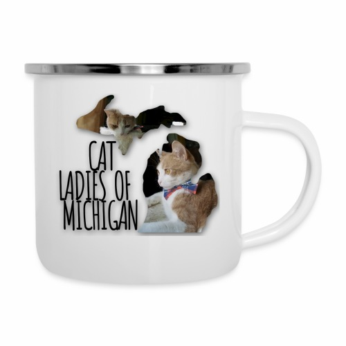 Cat Ladies of Michigan - Camper Mug