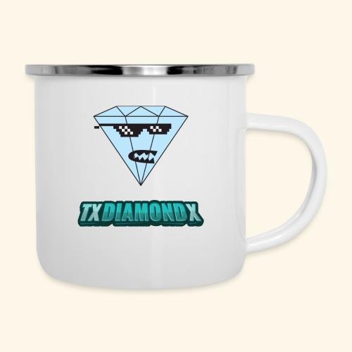 Txdiamondx Diamond Guy Logo - Camper Mug