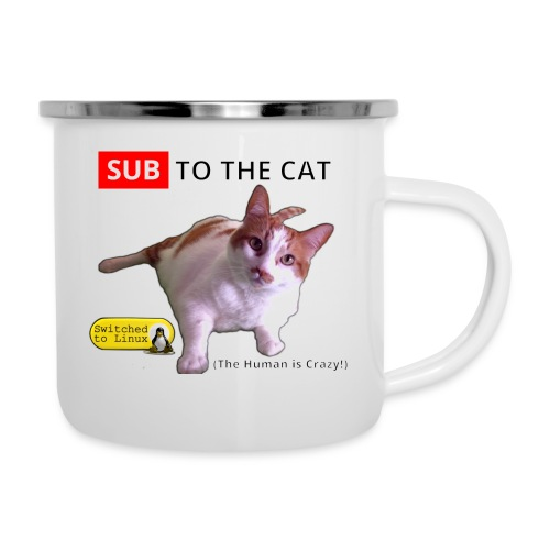 Sub to the Cat - Camper Mug