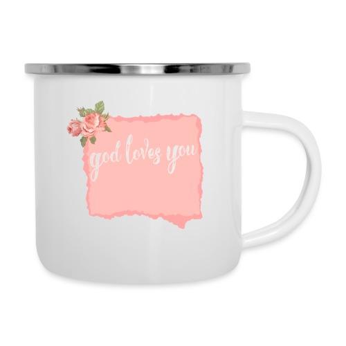 God Loves You - Camper Mug