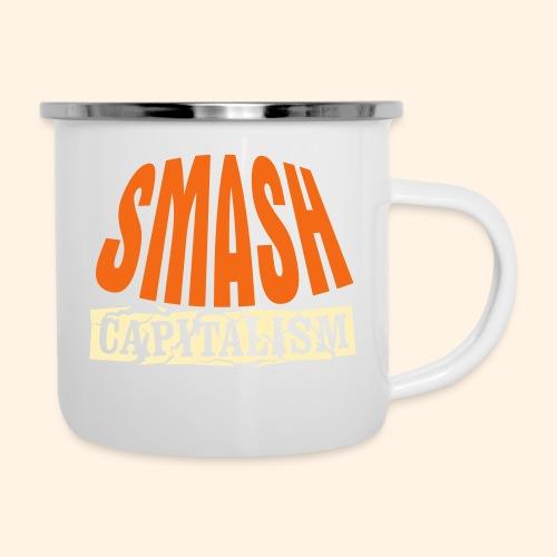 Smash Capitalism - Camper Mug