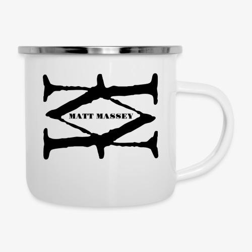 Matt Massey Logo Black - Camper Mug