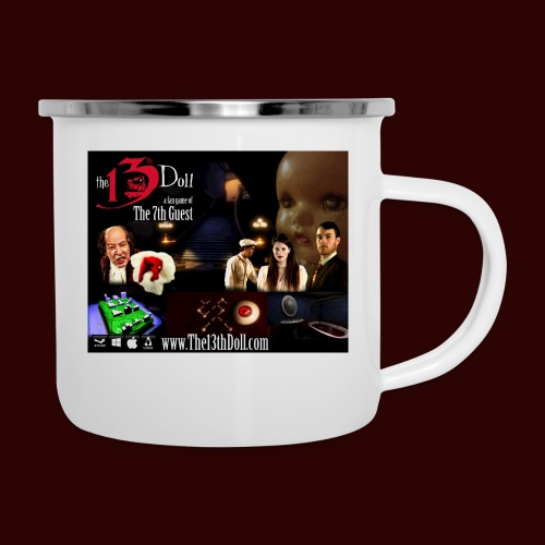 The 13th Doll Cast and Puzzles - Camper Mug