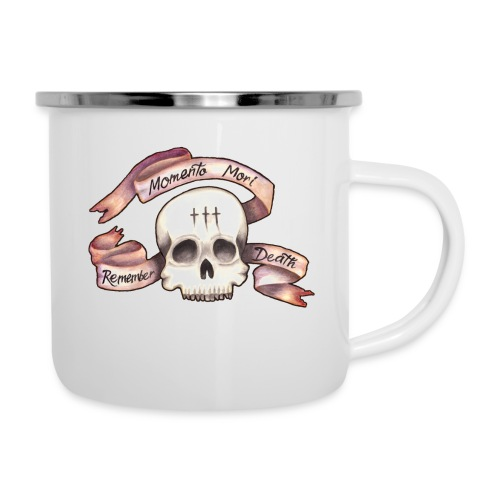 Momento Mori - Remember Death - Camper Mug