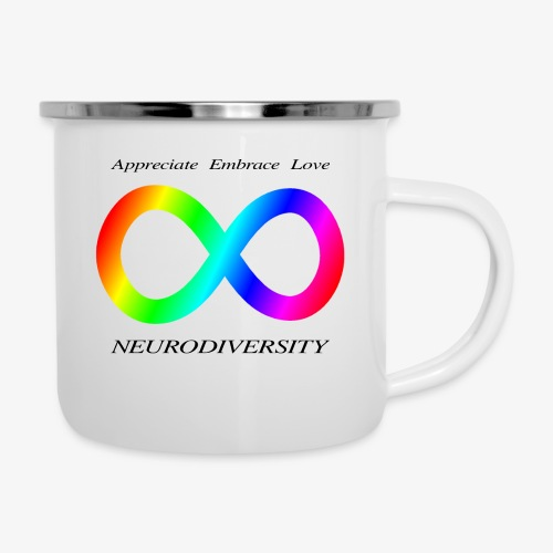 Embrace Neurodiversity - Camper Mug