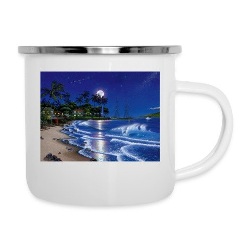 full moon - Camper Mug