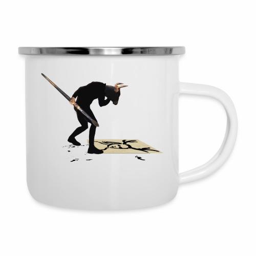Anguish Artist and AntlerGirl - Camper Mug