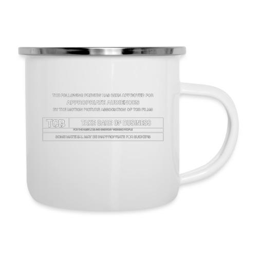 TCB Films Disclamer - Camper Mug