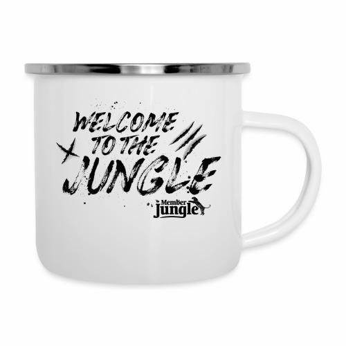 Welcome to the Member Jungle - Camper Mug