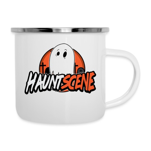 HauntScene Modern Logo 2020 - Camper Mug