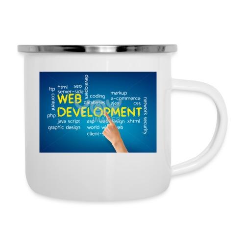 web development design - Camper Mug