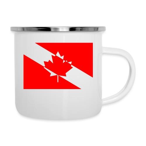Clear White Dive Canada v. Small - Camper Mug