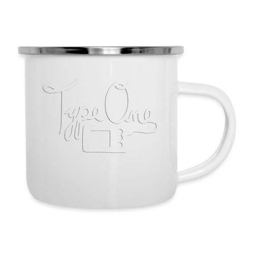 Type One - Insulin Pump 2- White - Camper Mug
