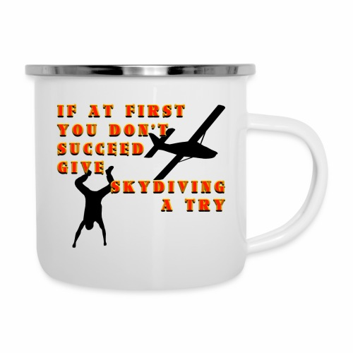 Try Skydiving - Camper Mug