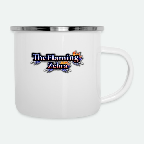 BIG TheFlamingZebra Logo - Camper Mug