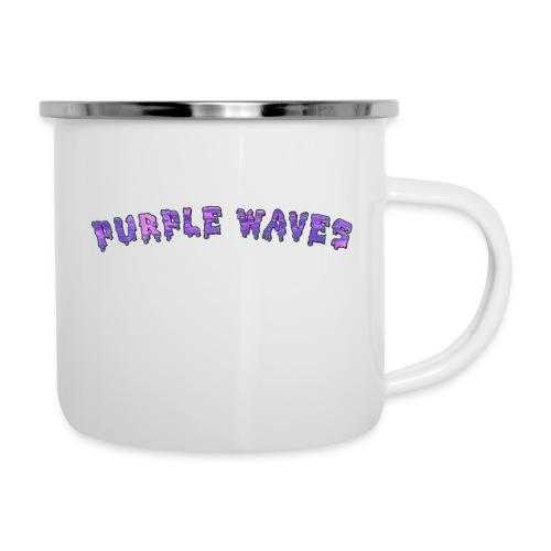 Purple Waves - Camper Mug