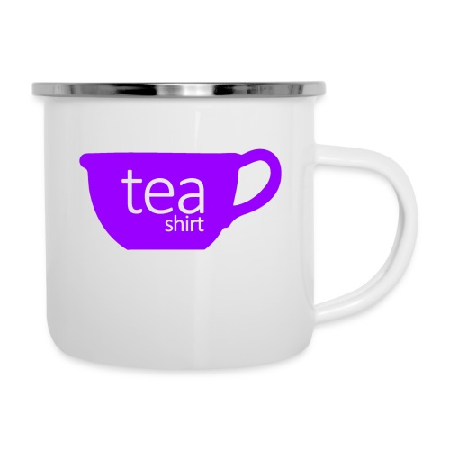Tea Shirt Simple But Purple - Camper Mug
