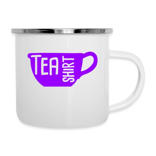 Tea Shirt Purple Power of Tea - Camper Mug