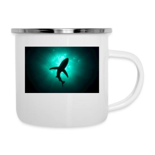 Shark in the abbis - Camper Mug