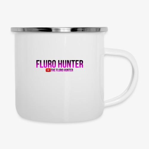 The Fluro Hunter Black And Purple Gradient - Camper Mug