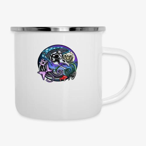 Mother CreepyPasta Nursery Rhyme Circle Design - Camper Mug