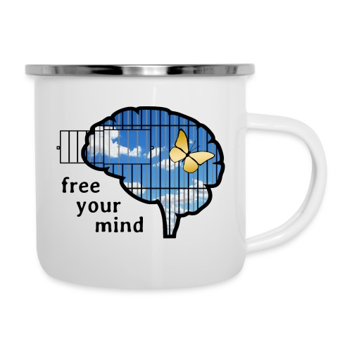 free your mind - Camper Mug