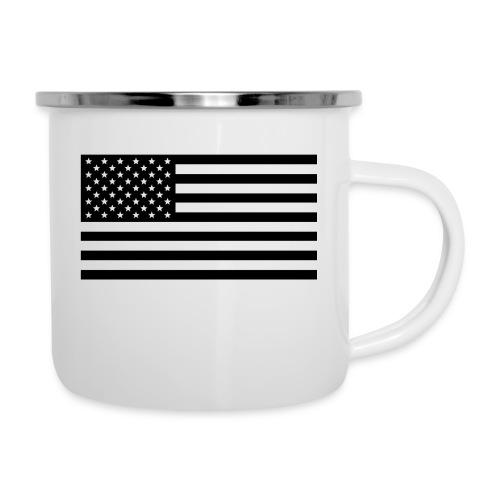American Flag - Camper Mug