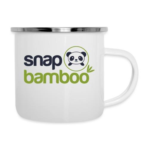 Snap Bamboo Square Logo Branded - Camper Mug