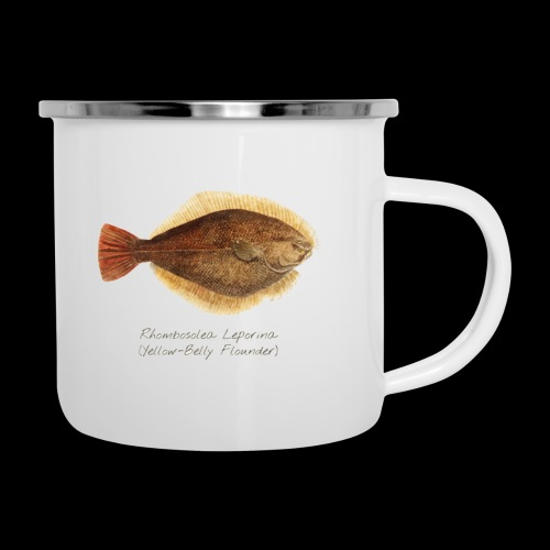 Yellow belly flounder - Camper Mug