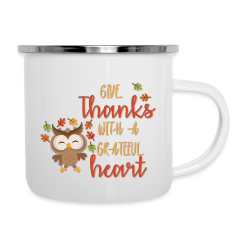 Give Thanks - Camper Mug