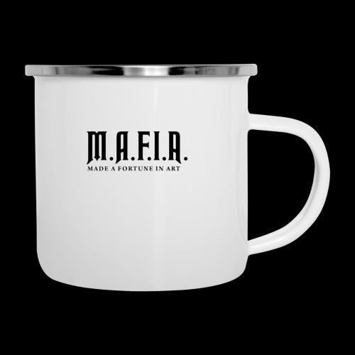 Classic Mafia Logo(White) - Camper Mug