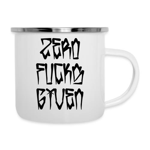 Zero Fucks Given - Camper Mug