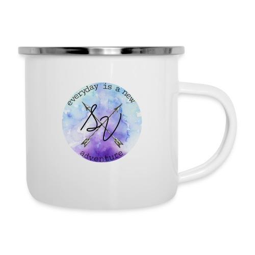 everyday is a new adventure logo - Camper Mug