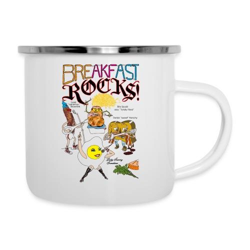 Breakfast Rocks! - Camper Mug