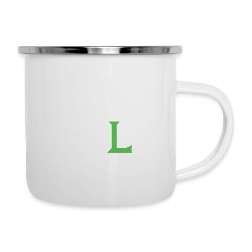 HIIT Life Fitness Logo White - Camper Mug